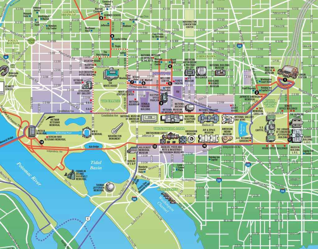 It's just an image of Effortless Printable Maps of Washington Dc